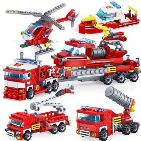 Конструктор Lego Пожарная техника