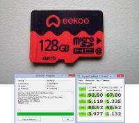 microSD eekoo 128GB C10