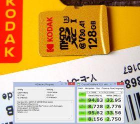 microSD KODAK 128GB U3