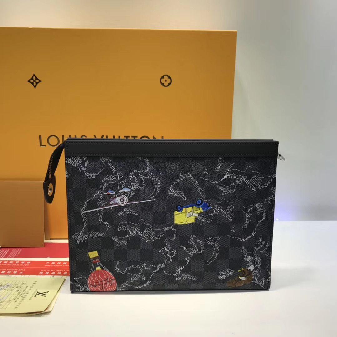 Папка клатч Louis Vuitton