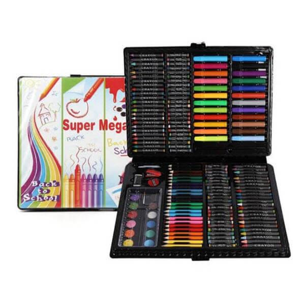 Набор для рисования в чемоданчике Super Mega Art Set. 168 предметов