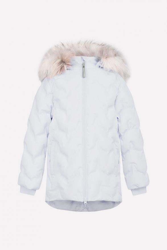 Зимнее пальто для девочки Crockid (мембрана)
