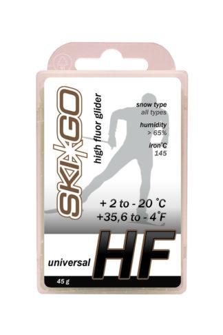 парафин skigo hf white высокофтористый +2/-20 45 гр