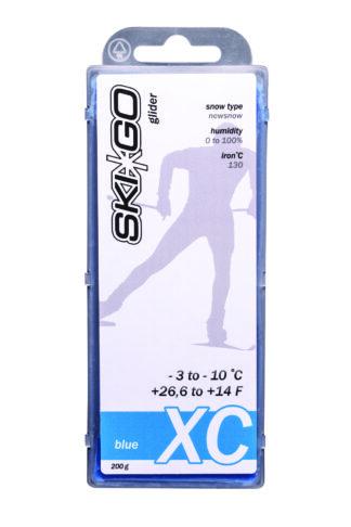 парафин skigo xc blue -3/-10 200 gr