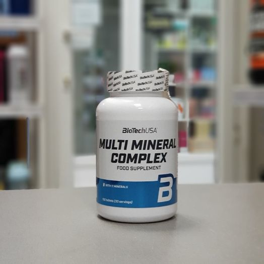 BioTech - Multimineral Complex (100 таб)