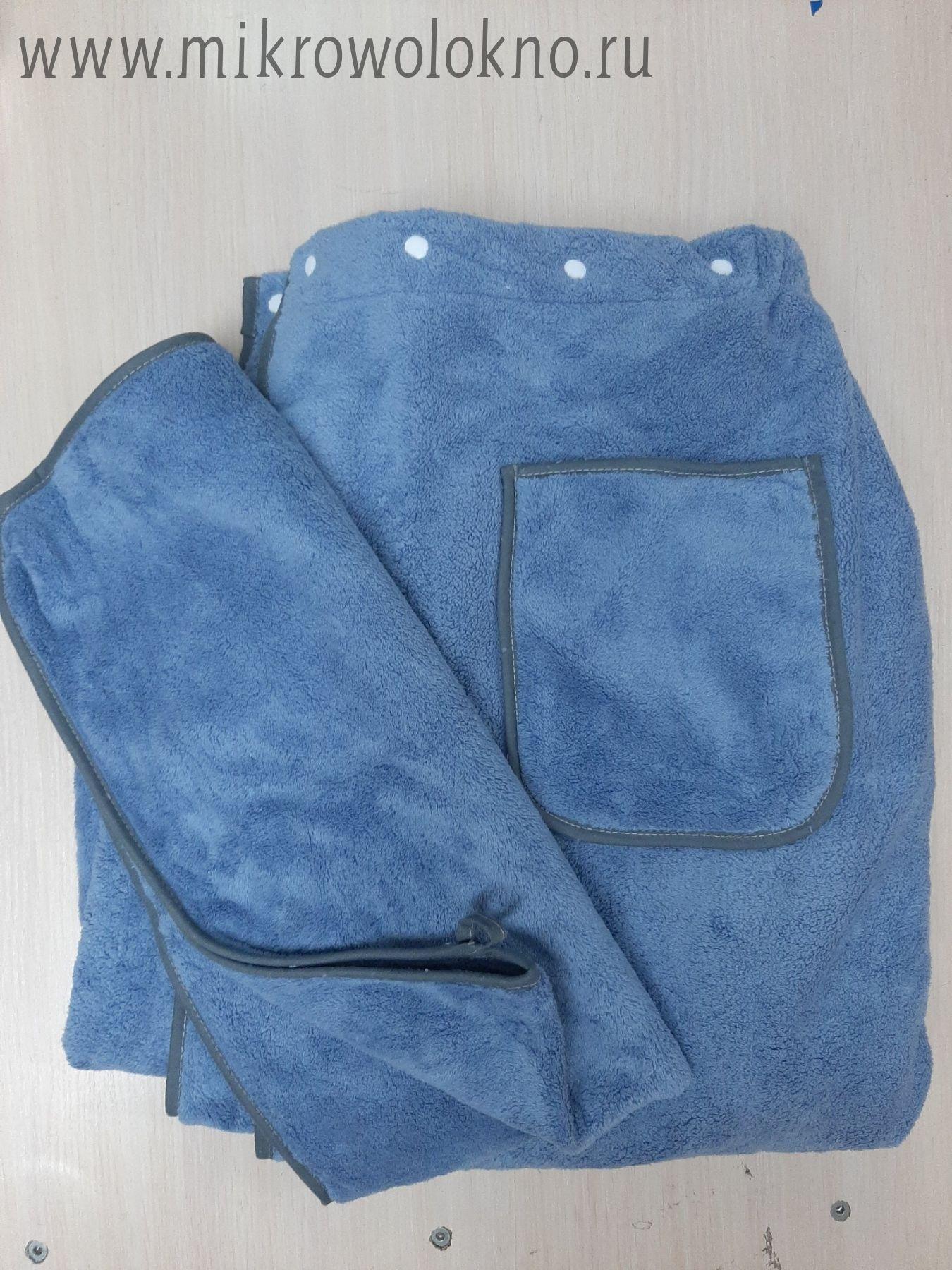 Парео мужское (Набор: парео+полотенце ручное)