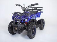 Atv Classic Mini E 800W Электроквадроцикл синий паук вид 1