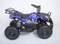 Atv Classic Mini E 800W Электроквадроцикл синий паук вид 5