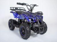 Atv Classic Mini E 800W Электроквадроцикл синий паук вид 6