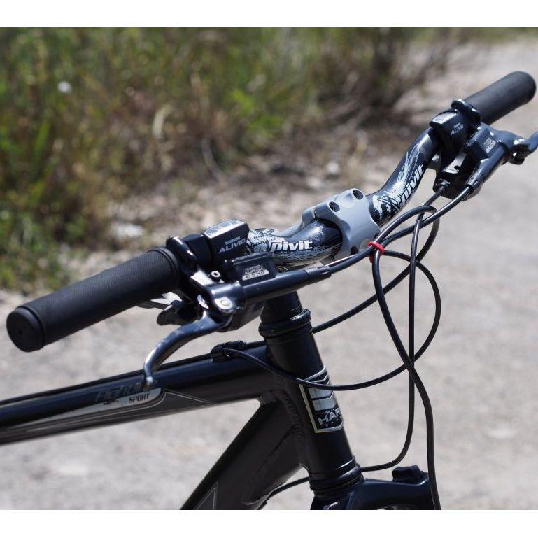 Противоскользящие накладки грипсы на велосипедный руль с торцевой защитой, 2 шт