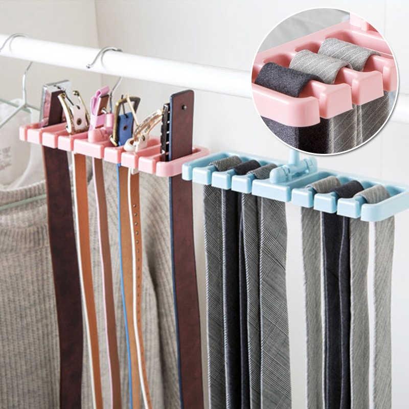 Вешалка-держатель ремней, шарфов и галстуков, 8 отделений