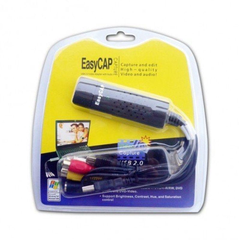 EasyCap адаптер для видео и аудио USB 2.0