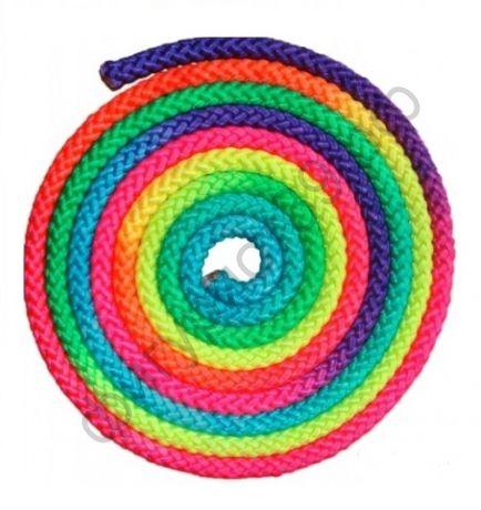 Скакалка шнур, радуга