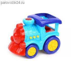 Игрушечный поезд (свет, звук)