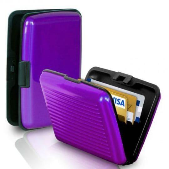Бокс для кредитных карт Security Credit Card Wallet, фиолетовый