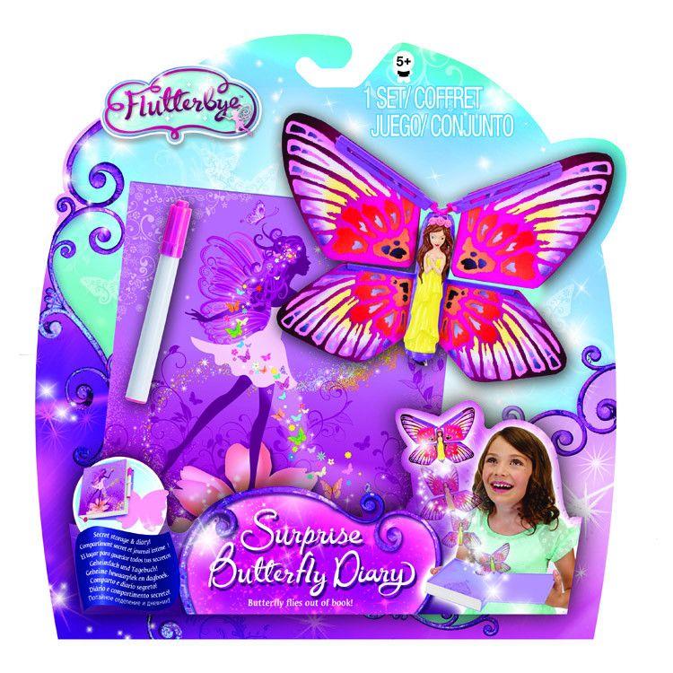 Волшебный дневник с бабочкой-сюрпризом (Surprise Butterfly Diary)