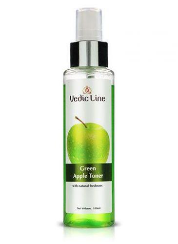 Тоник для лица Зеленое яблоко | Green Apple Toner | 100 мл | Vedic Line