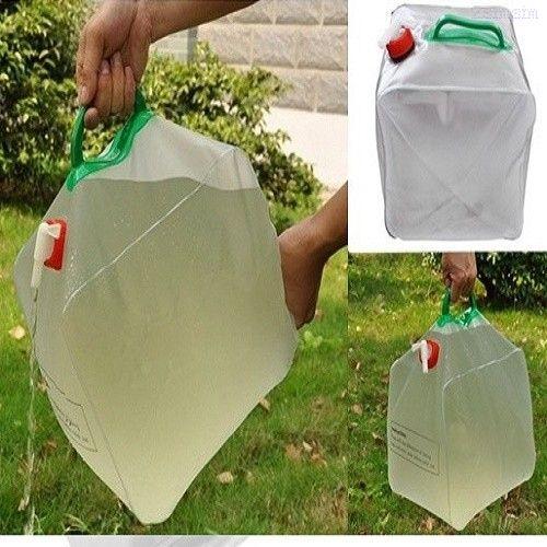 Складная канистра предназначена для транспортировки и хранения жидкого топлива, воды, пищевых продуктов и т.д.