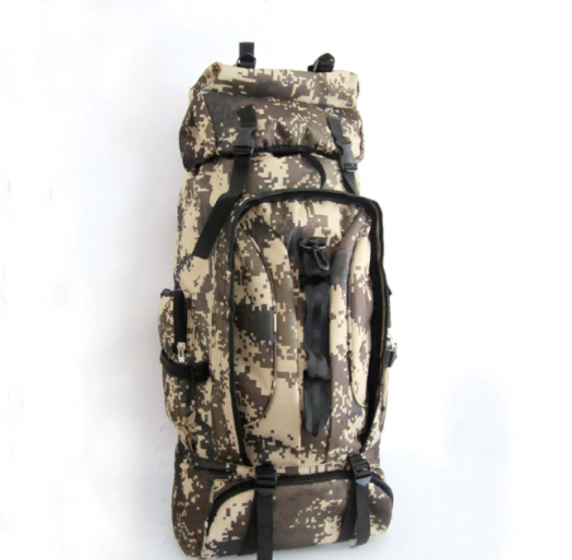 Военно-туристический рюкзак на 85л цвет хаки