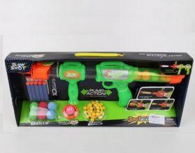 Ружье 3 в 1 для детей с шарами и мягкими пулями