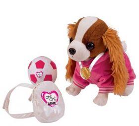 Chi Chi Love Sport Собачка Чи Чи Лав Кокер-спаниель с мячиком, рюкзаком и медалью