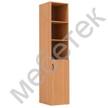 Шкаф для документов узкий полуоткрытый