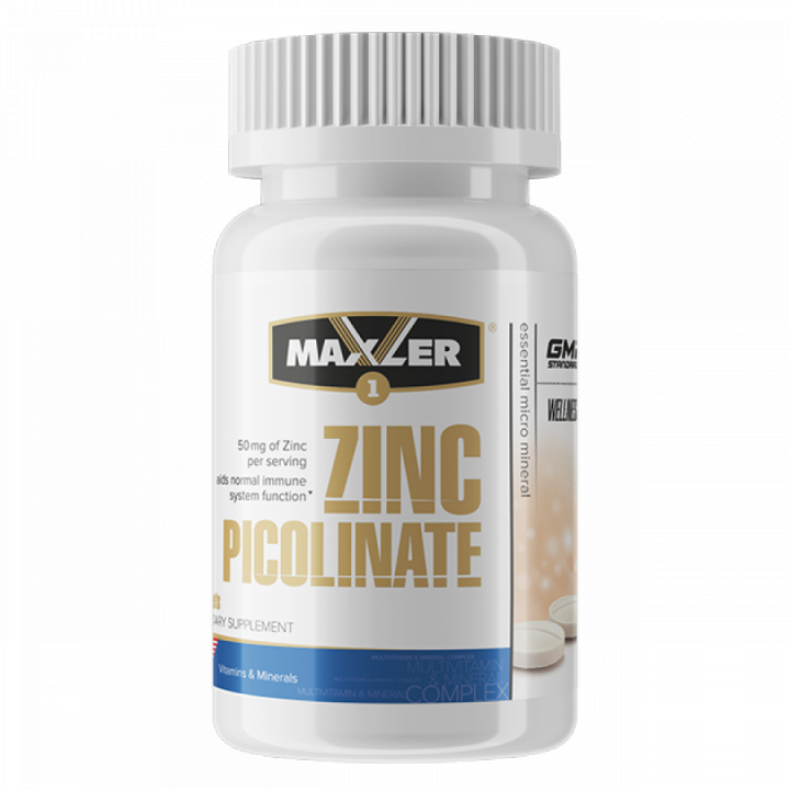 Zinc Picolinate 60 tabs (Maxler)