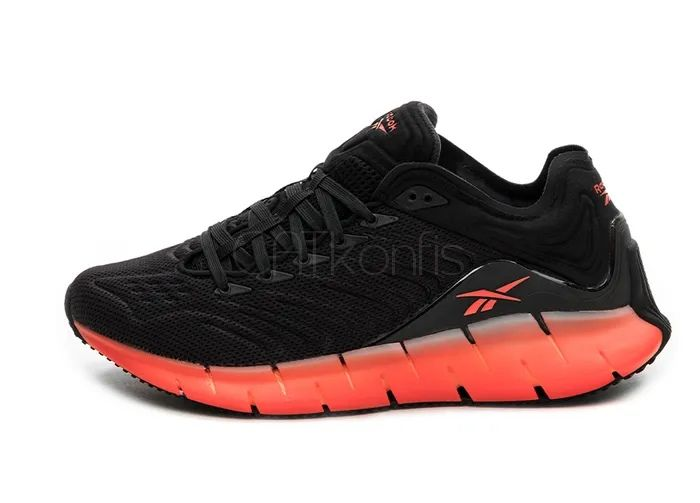 REEBOK ZIG KINETICA BLACK RED