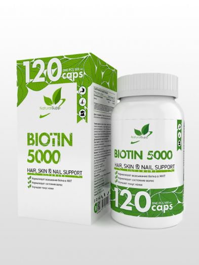 Biotin 5000 60 caps(Natural Supp)