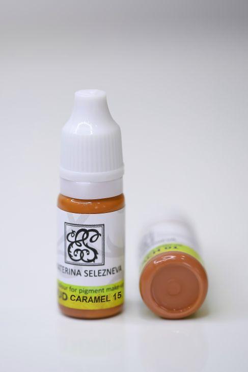 15 Пигмент для губ Ekaterina Selezneva 10ml Caramel