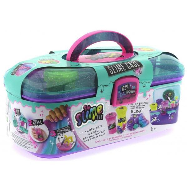 Набор для изготовления слаймов в кейсе Slime Case. Фиолетовый
