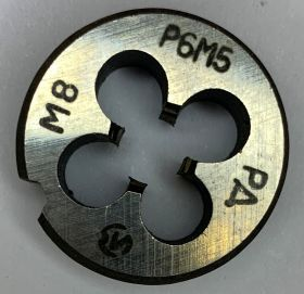 Плашка М8,0х1,25 Р6М5 ГОСТ9740-71