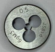 Плашка М3,0х0,5 Р18 ГОСТ9740-71