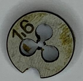 Плашка М1,6х0,35 Р6М5 ГОСТ9740-71