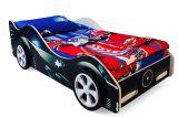 Детская кровать-машина Бэтмобиль