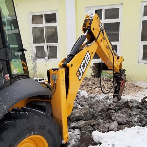 Реконструкция территории возле магазина «Пятерочка»
