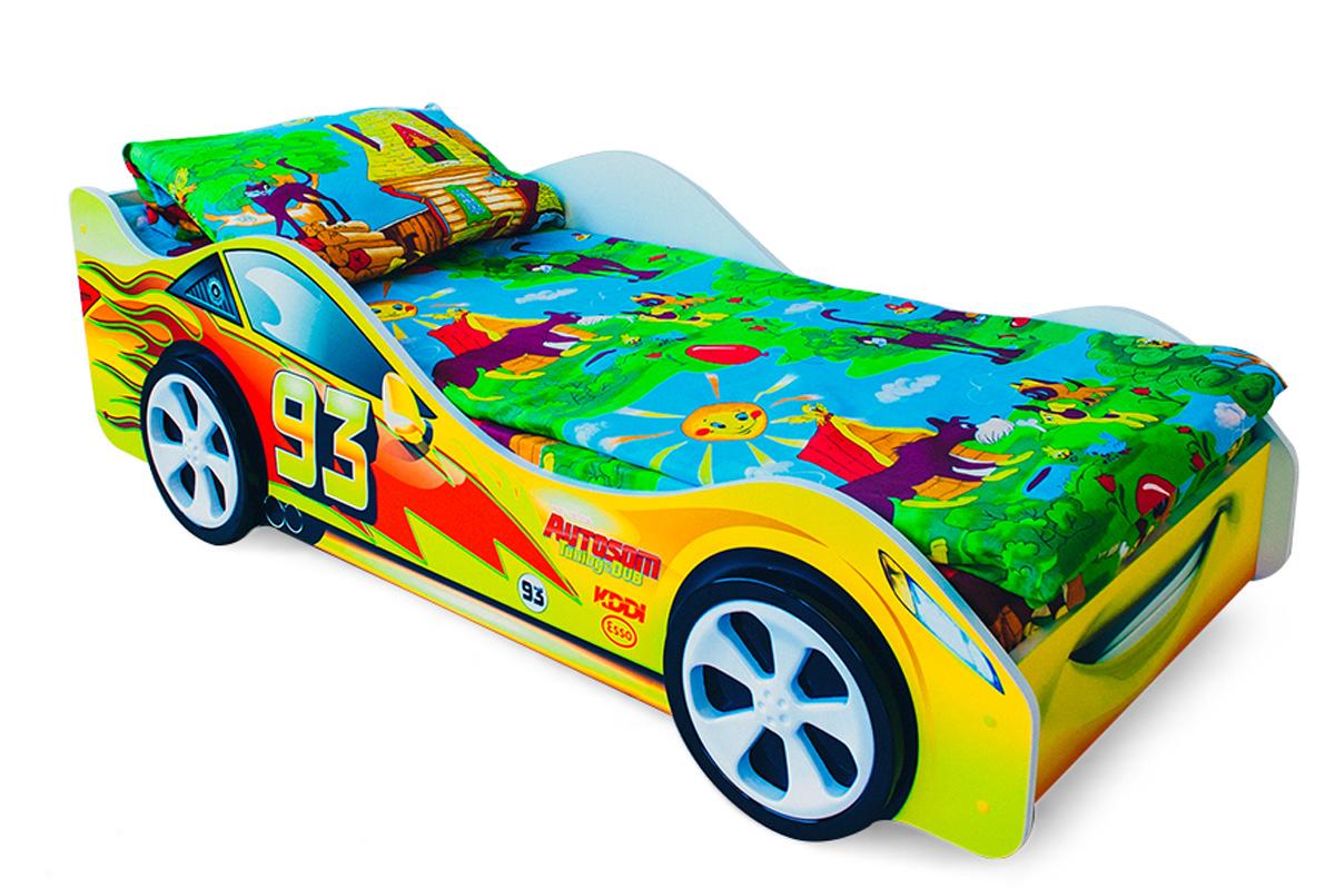 Детская кровать-машина Тачка