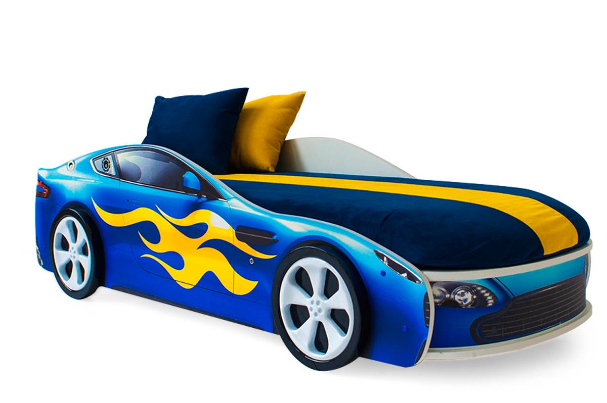 Детская кровать-машина  Бондмобиль