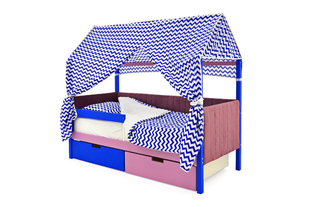 Детская кровать-домик мягкий Svogen