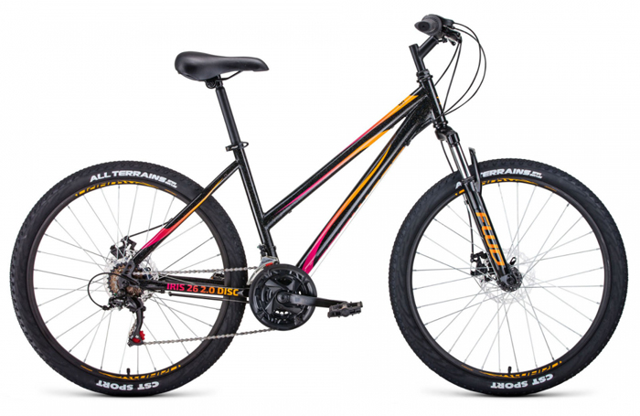 Велосипед FORWARD IRIS 26 2.0 disc