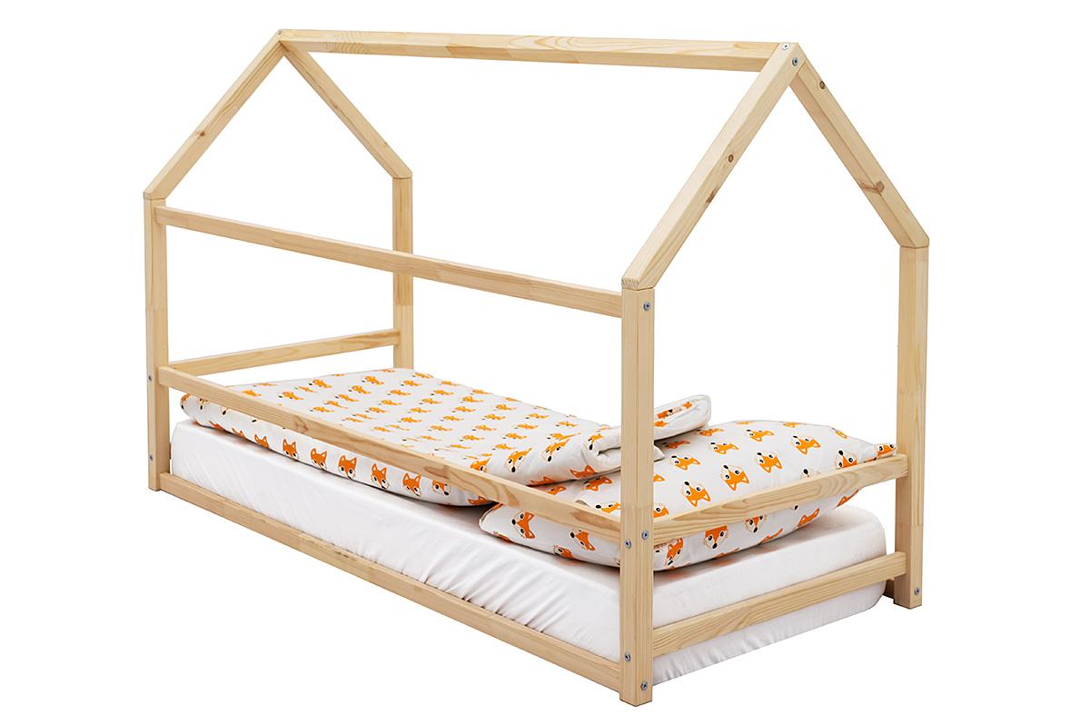 Детская кровать-домик Монтессори