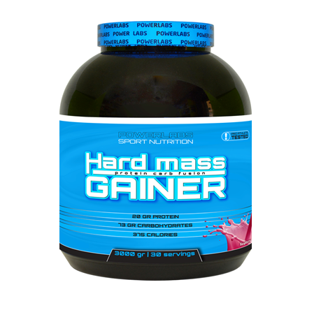 POWERLABS HARD MASS GAINER 3000 G