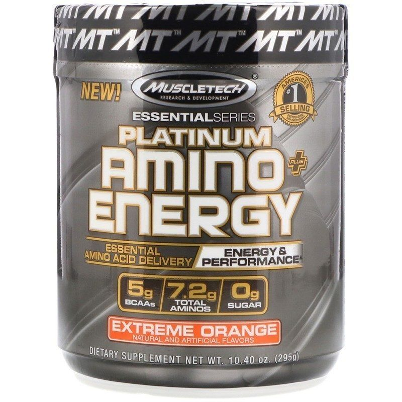MUSCLETECH PLATINUM AMINO ENERGY 295 ГР