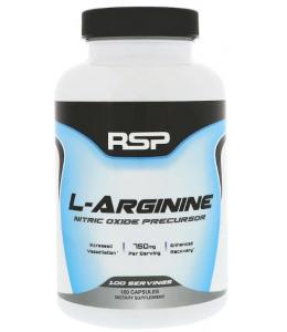 RSP NUTRITION L-ARGININE 750 МГ 100 КАПС