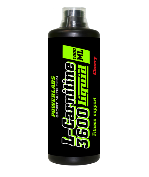 POWERLABS L-CARNITINE 3600 LIQUID 1000 МЛ