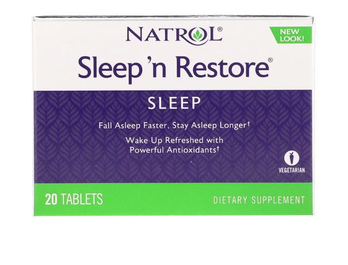 NATROL SLEEP 'N RESTORE 20 ТАБЛЕТОК