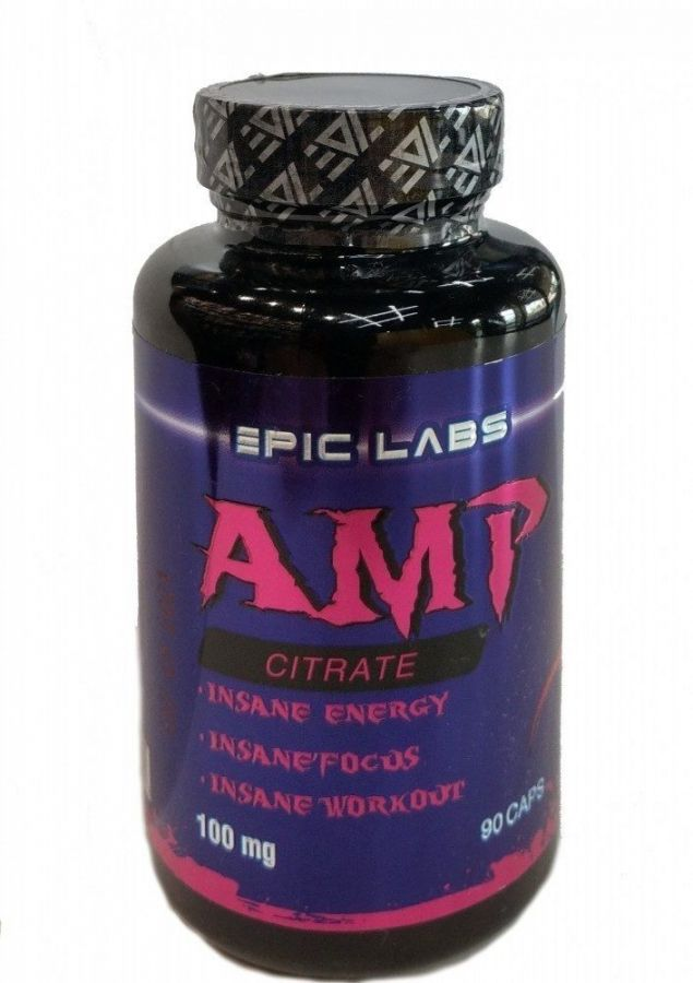 Epic Labs AMP Citrate 100 мг 90 капс