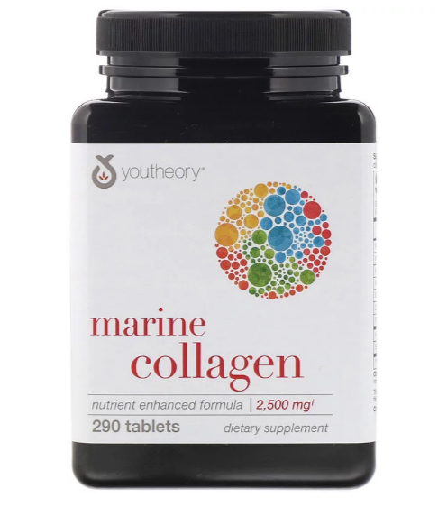 Youtheory Marine collagen 2500 мг 290 табл