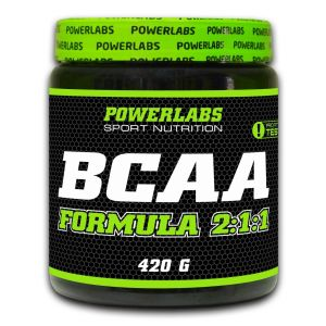POWERLABS BCAA POWDER 420 гр