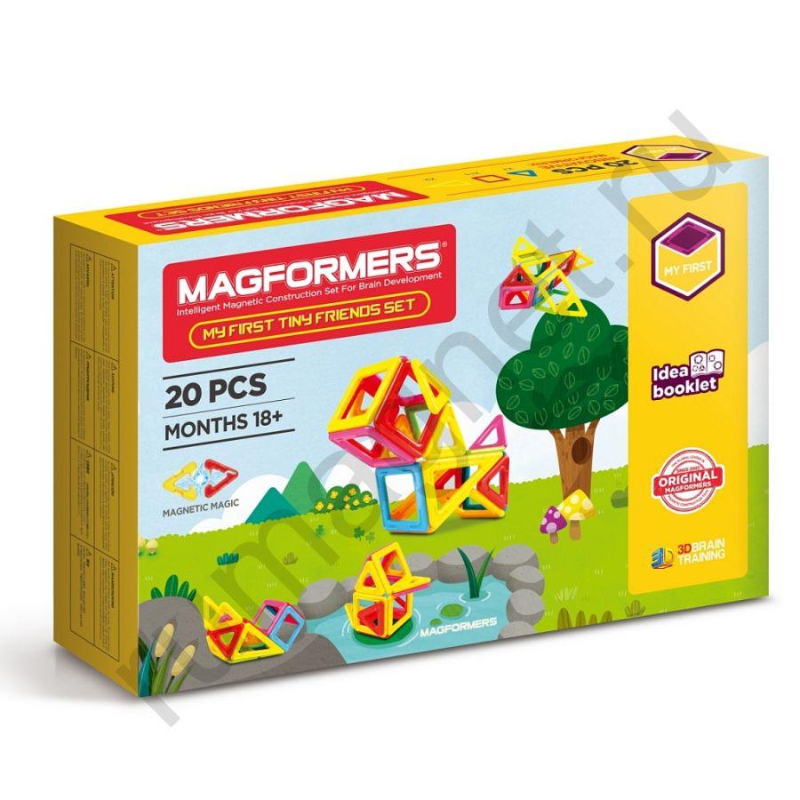 Магнитный конструктор MAGFORMERS 702004 Tiny Friends